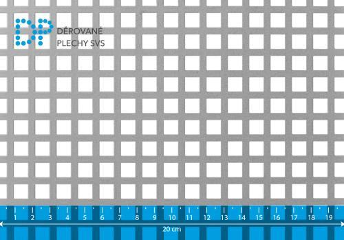 Děrovaný plech pozinkovaný Qg 8-12