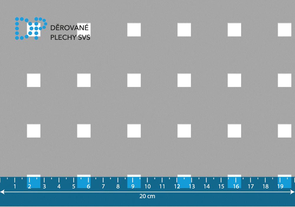 Děrovaný plech nerezový Qg 9,2-34