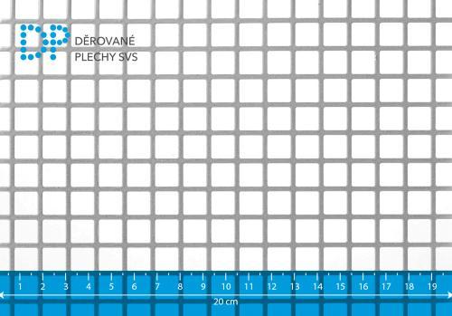 Děrovaný plech pozinkovaný Qg 10-12