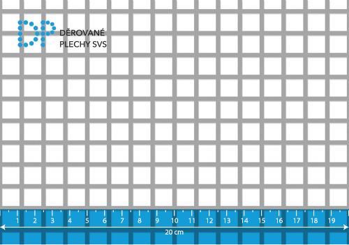 Děrovaný plech nerezový Qg 10-12,5