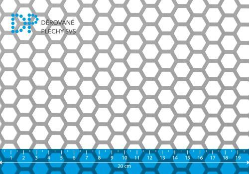Děrovaný plech ocelový Hv 11-14