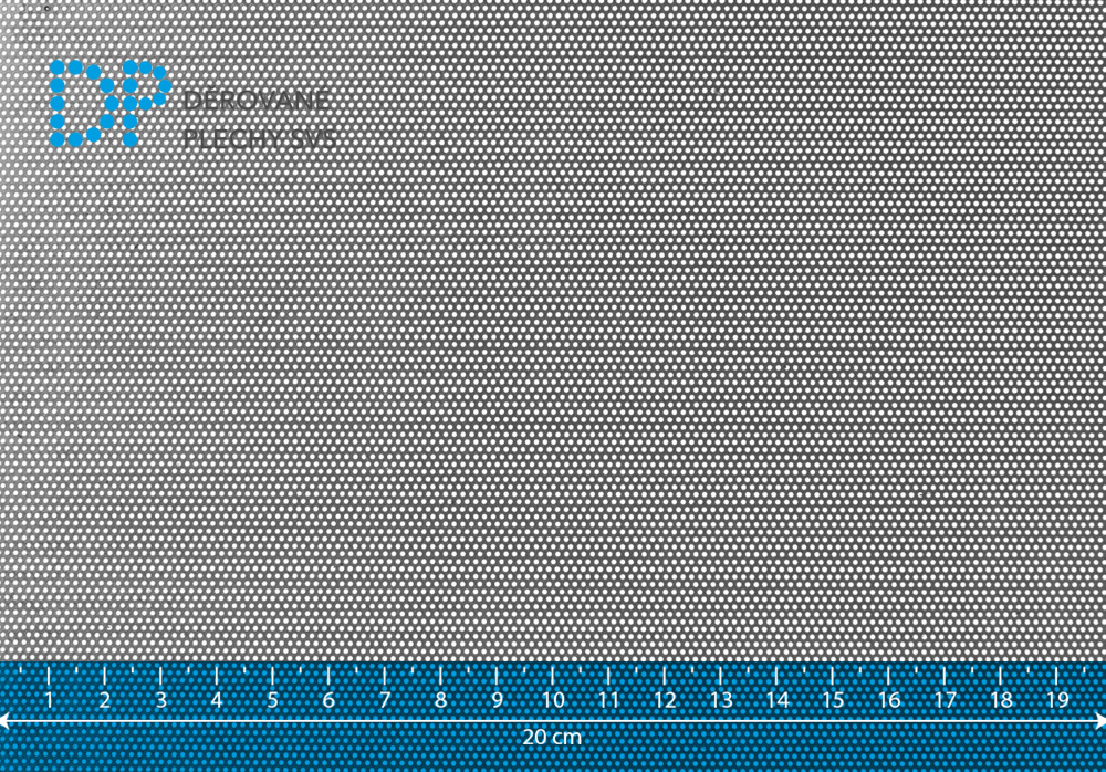Děrovaný plech nerezový Rv 0,75-1,5