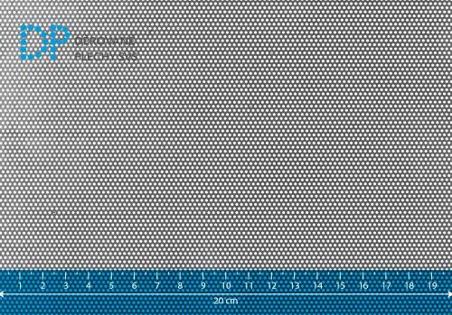 Děrovaný plech pozinkovaný Rv 1-2