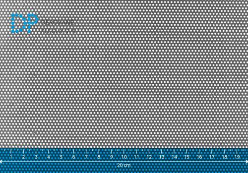 Děrovaný plech nerezový Rv 1,25-2,5