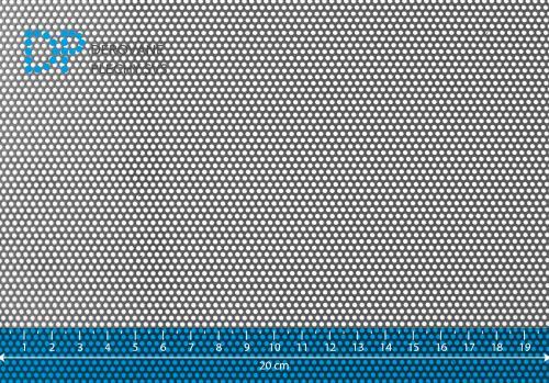 Děrovaný plech ocelový Rv 1,5-2,5