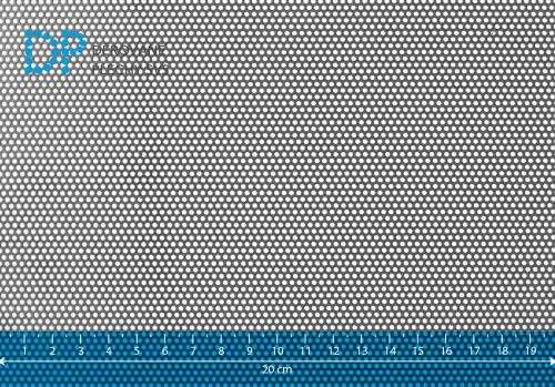 Děrovaný plech pozinkovaný Rv 1,5-2,5