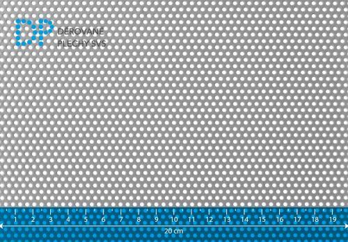 Děrovaný plech hliníkový Rv 2-4